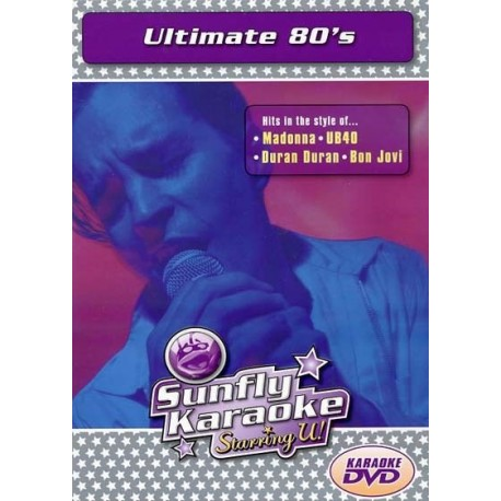 Karaoke DVD - Ultimate 80s