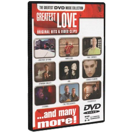 Greatest Love Songs - Original Hits & Video Clips (DVD)
