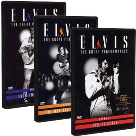 Elvis - The Great Performances (DVD-Set)