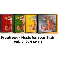 Krautrock Mega-Sparpaket Vol. 2, 3, 4 und 5